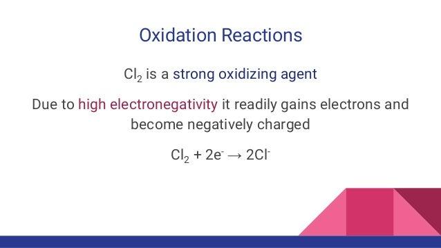 Chemical Properties of Chlorine Gas Slide 3