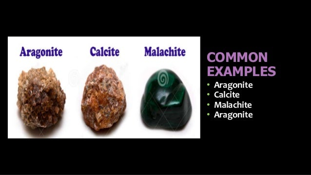 Chemical Properties Of Minerals