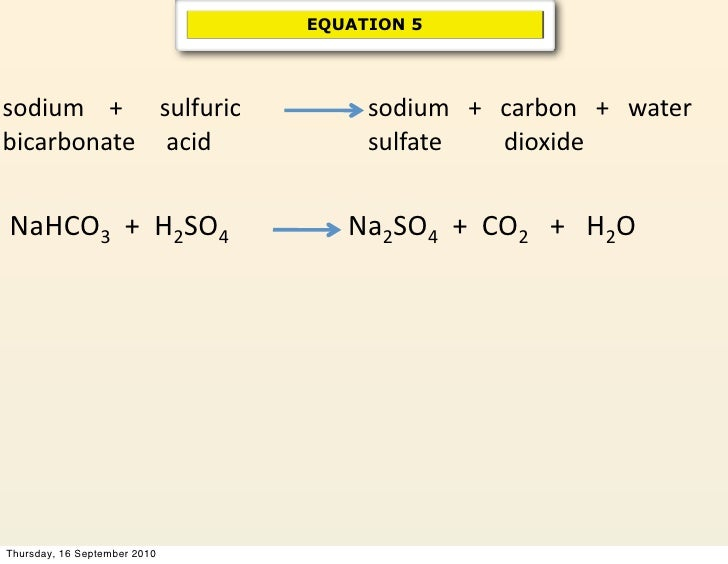 Sulfuric Acid And Water Reaction Equation 19