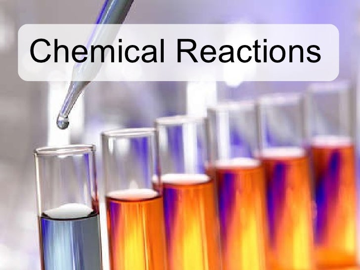 chemical reaction How to calculate the enthalpy of a chemical reaction during any chemical reaction, heat can be either taken in from the environment or released out into it the heat exchange between a chemical reaction and its.