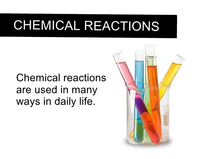 defining the scope of chemistry and types of chemical reactions