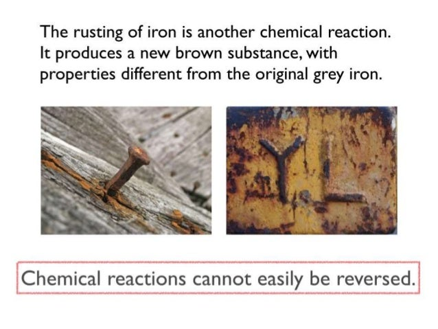 Chemical Reactions Slide 3