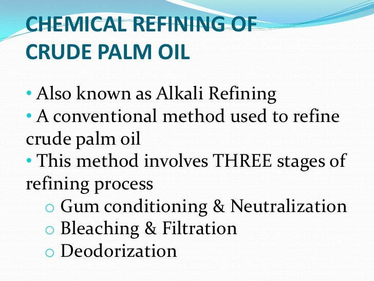 bleaching of crude palm oil Download free bleaching of palm oil using activated charcoal in nigeria for academic research, education, universities.