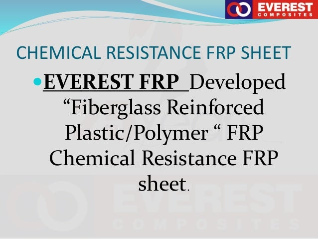 Chemical Resistance Machine Make FRP(FIbreglass Reinforced