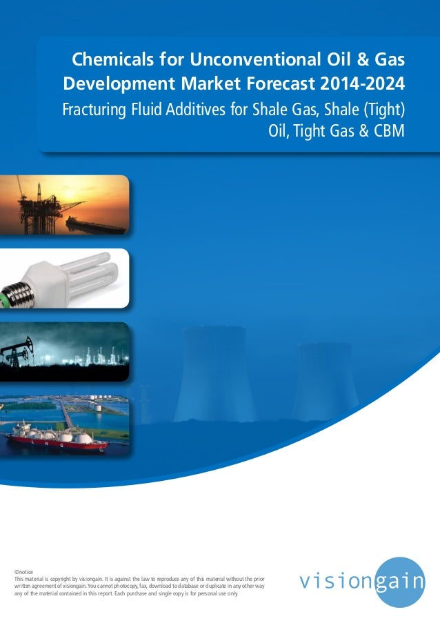 Chemicals for Unconventional Oil & Gas Development Market Forecast 2014-2024 Fracturing Fluid Additives for Shale Gas, Sha...