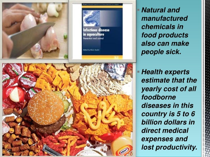 what chemicals are in food