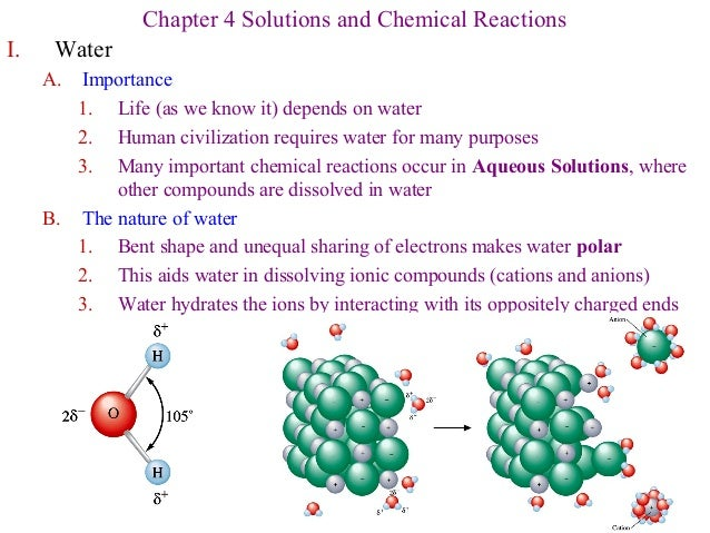 Essay on the importance of chemical reactions in our life
