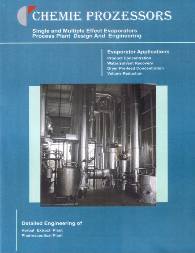 Chemie Prozessors, Vadodara, Chemie Prozessors, Vadodara, Evaporators and Engineering Services