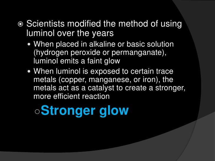 causes of luminescence and chemiluminescence Luminescence phenomena luminescence is the phenomenon of emission of electromagnetic radiation in excess of thermal radiation the radiation is usually in the visible region of the electromagnetic spectrum, however, since the same basic processes may yield infrared or ultra violet radiation.