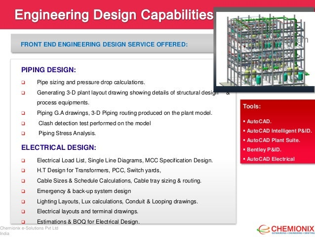 Chemionix: Engineering Design & CAD Drafting Outsourcing Company