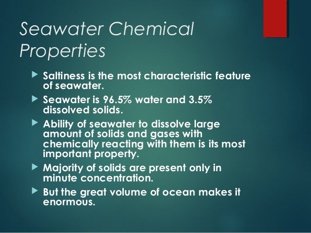 what is the most important property of water