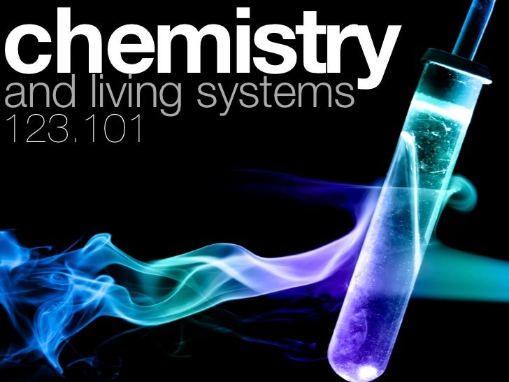 chemistryand living systems123.101