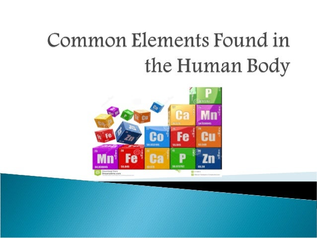 chemistry in human body Element, amount / kg, amount / mol oxygen, 43, 2700 carbon, 16, 1300 hydrogen, 7, 7000 nitrogen, 1 8, 130 calcium, 1 0, 25 phosphorus, 0 78, 25 sulphur, 0 14, 4 4 potassium, 0 14, 3 6 sodium, 0 10, 4 3 chlorine, 0 095, 2 7 magnesium, 0 019, 0 78 silicon, 0 018, 0 64 iron, 0 0042, 0 075 fluorine, 0.