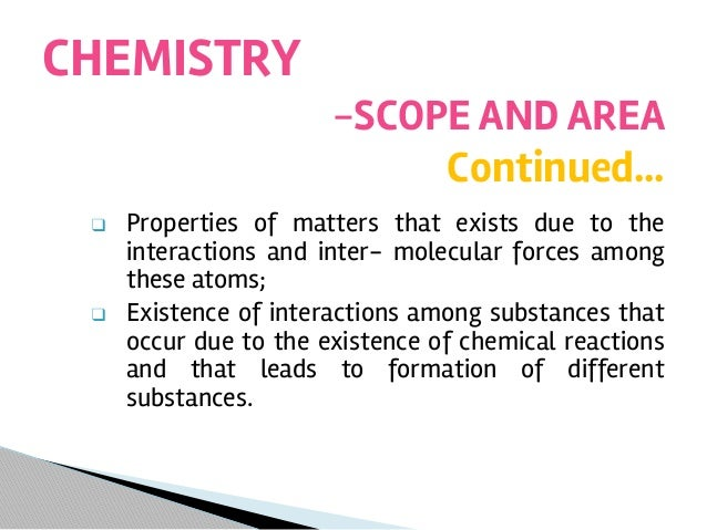 chemistry assignment help  chemistry scope and area 5