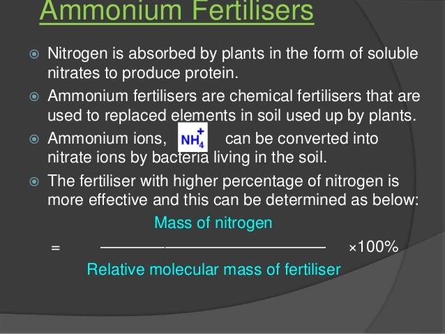 Nitrogen Gas Relative Molecular Mass Of Nitrogen Gas