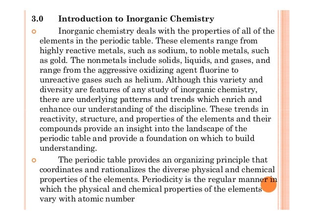 Inorganic chemistry periodic table periodicity pre u chemistry semester 2 chapter 3 periodic table periodicity 2 urtaz Image collections