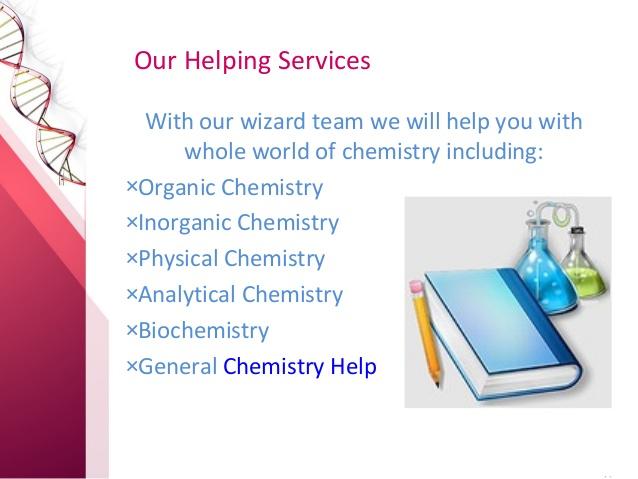 Chemistry homework help free online