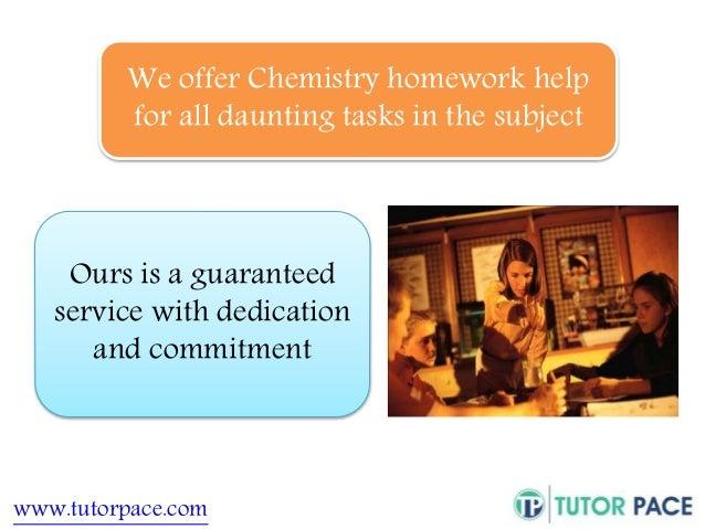 Pay to do chemistry homework