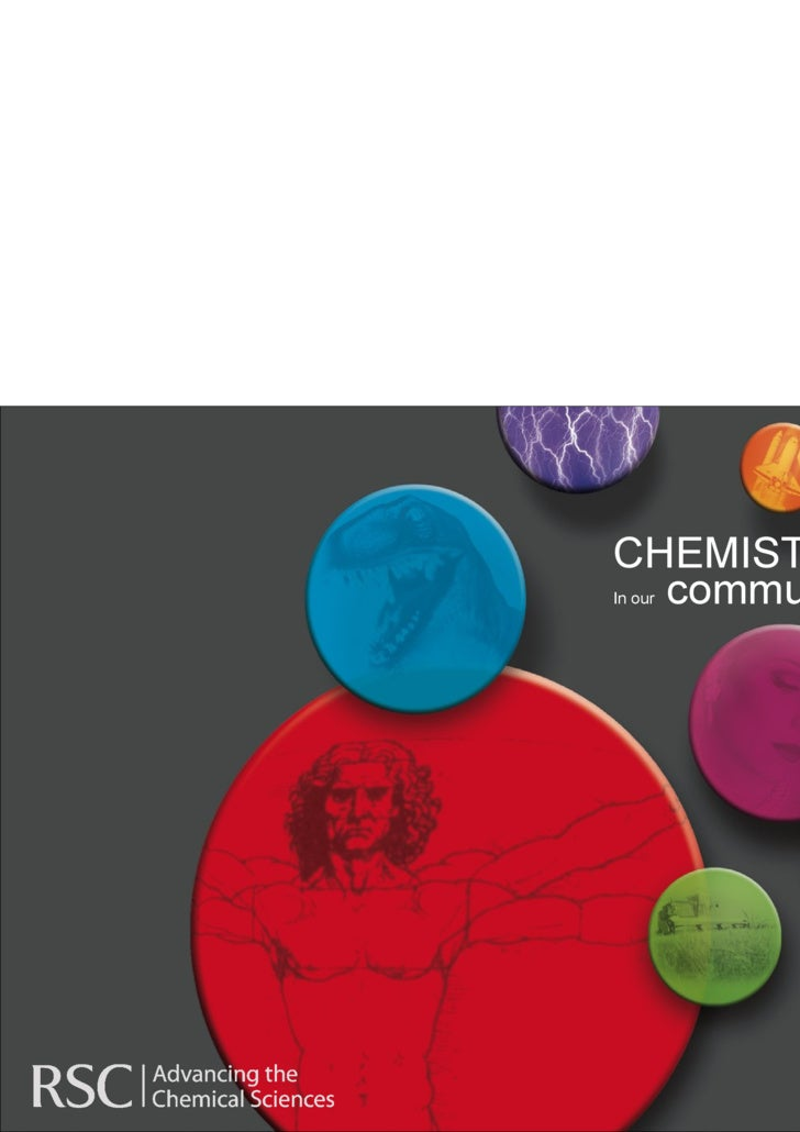 CHEMISTRY In our  community