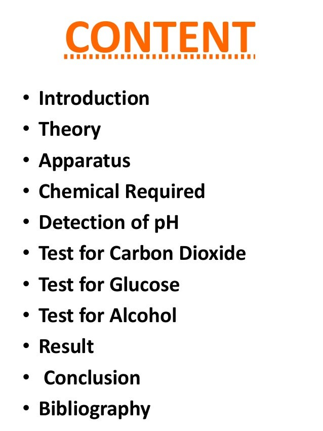 Chemistry investigatory project for everyone