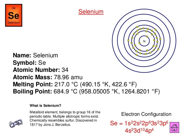 Chemistry is fun ipt arsenic 71 name selenium symbol se atomic number urtaz Image collections