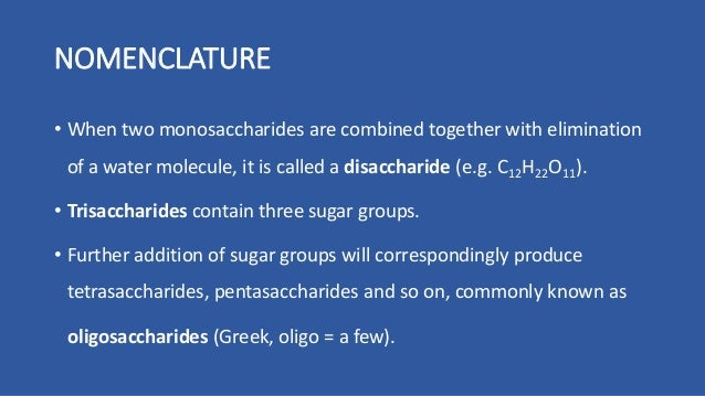 the chemistry of carbohydrates Carbohydrate chemistry part 1: simple carbohydrates dr kevin ahern   nomenclature • structures • cyclizations • modifications simple carbohydrates .