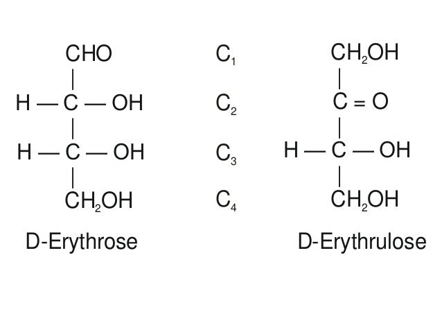 D Erythrulose Chemistry of ca...