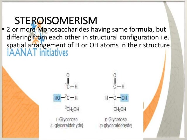 OPTICAL ISOMERISM • Presence of asymmetric C atom confers optical activity to the carbohydrates. • When a beam of plane po...