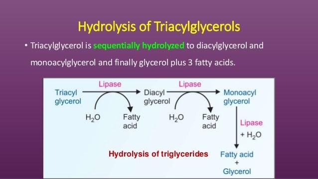 Chemistry of chemistry of lipids