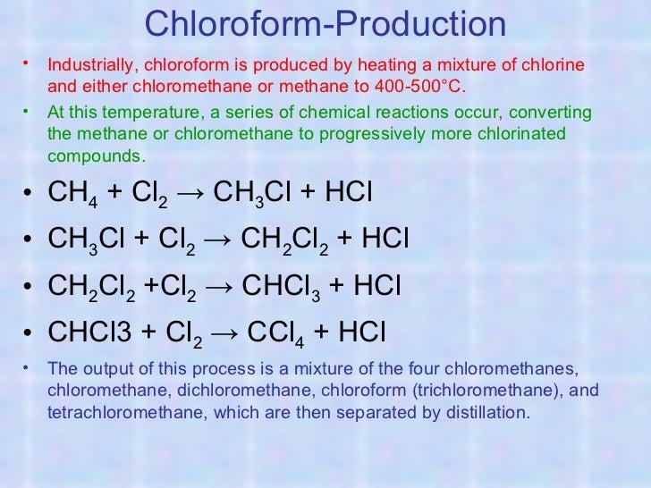 Ch3cl Chemistry of organic c...