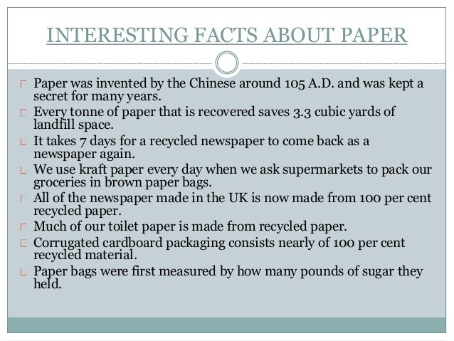Chemistry Of Papermaking Around 3000 Chemicals Used In