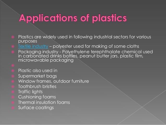 Chemistry Of Plastics Rubber And Resins