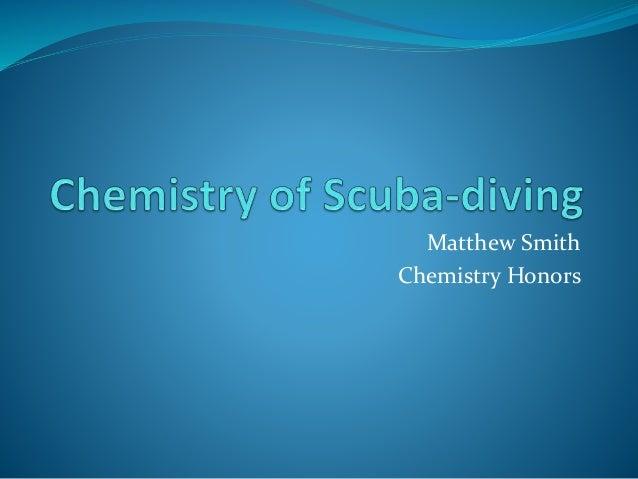 Matthew Smith Chemistry Honors