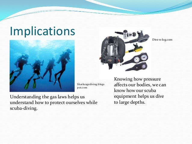 Chemistry of scuba diving ppt