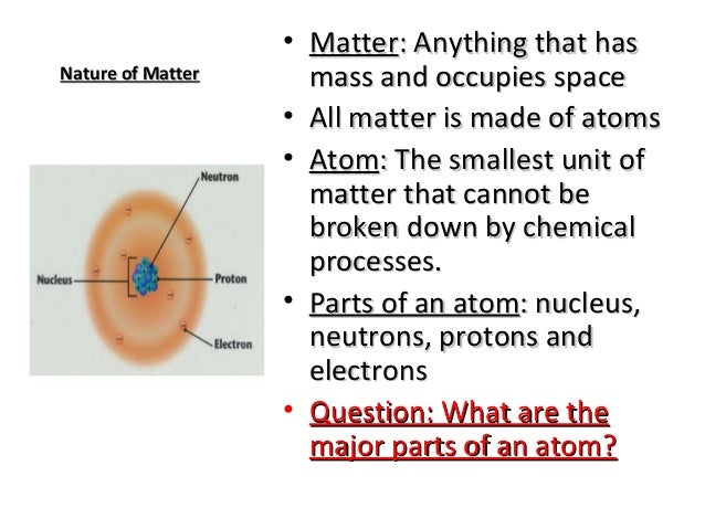 major properties of water