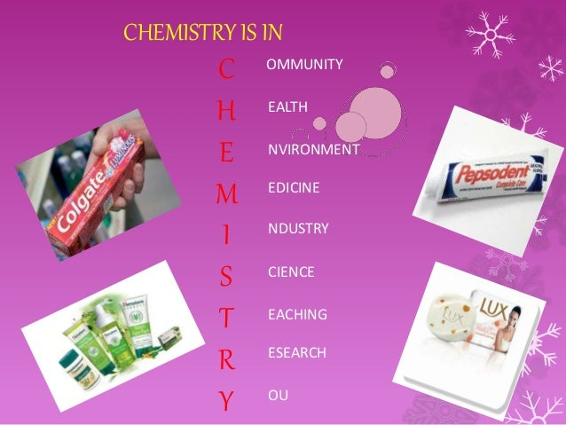 Chemistry in our life essay writing