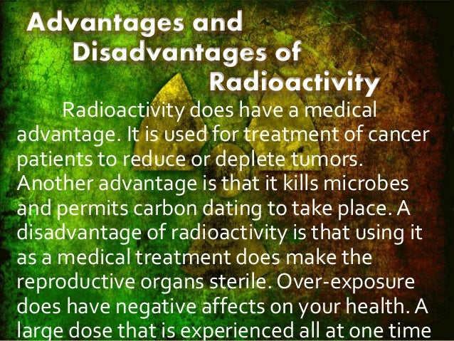 What is the importance of radioactive dating