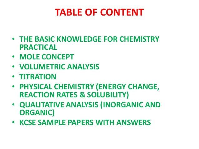 Chemistry practical ppt Slide 2