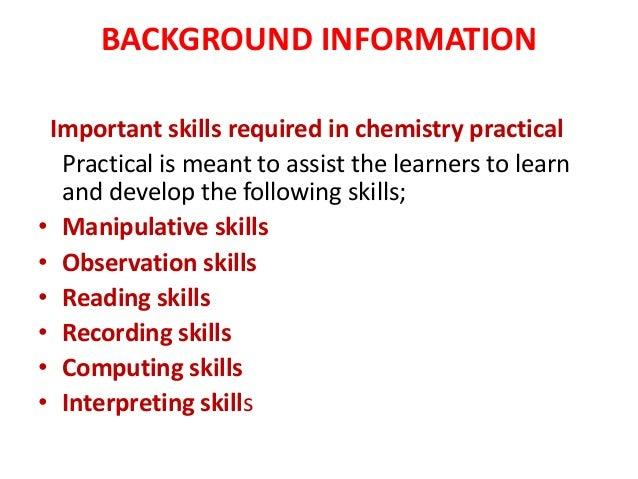 Chemistry practical ppt Slide 3