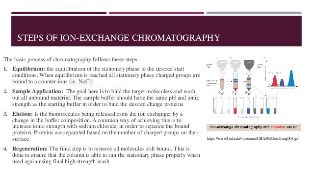 applications of ion exchange chromatography enzymes