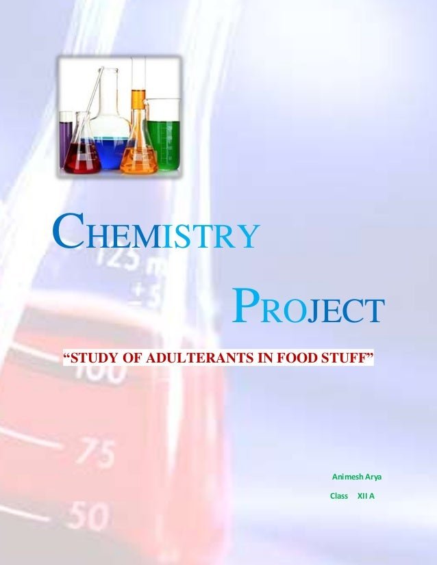 study of adulterants in food stuff The present study focuses on analyzing few selected food items food adulterants, edible oil, ghee adulteration in food stuff and its harmful effects.