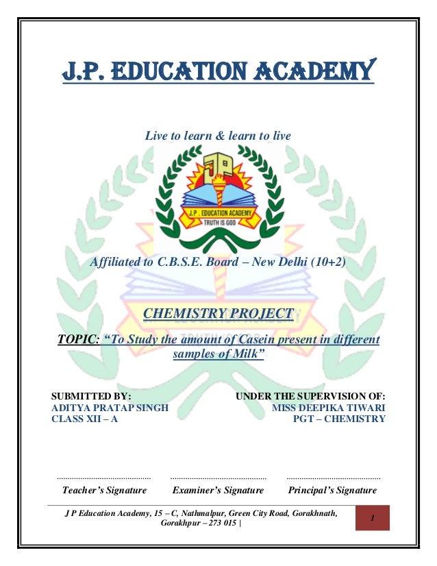 J P Education Academy, 15 – C, Nathmalpur, Green City Road, Gorakhnath, Gorakhpur – 273 015 | 1 J.P. EDUCATION ACADEMY Liv...