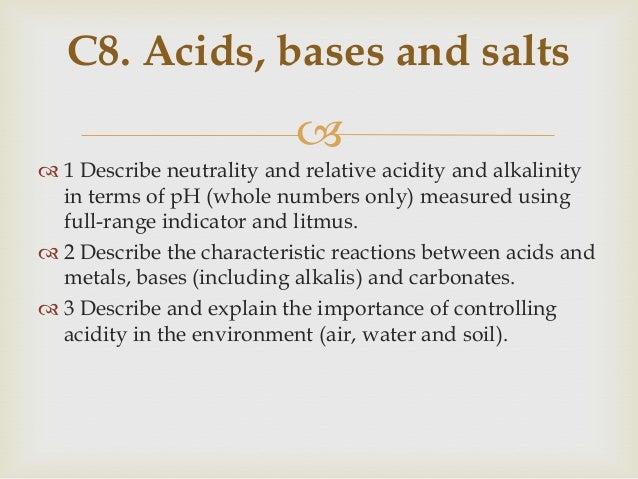  Acid Base Reaction  Acid + Base —-> Salt + water  We call this the Neutralization Method.