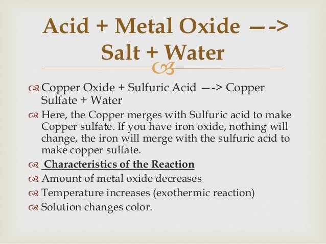   Lux-Flood Concept (Oxide Solids)   Acid: Oxide ion acceptor   Base: Oxide ion donor  – A generalization that incl...
