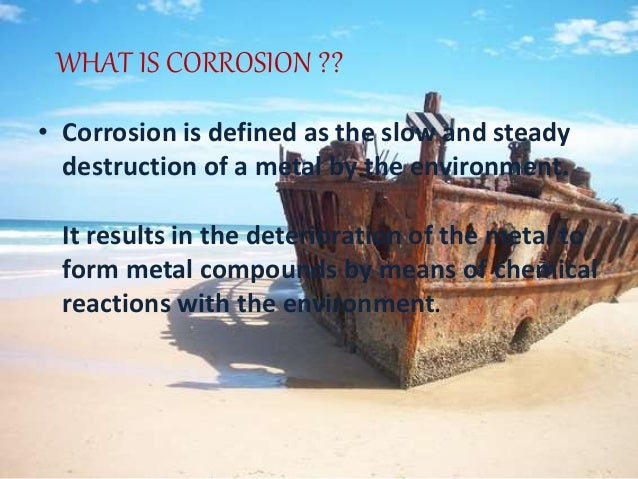 corrosion of metals Parts: i corrosion of metals 1 nucleation and development of pitting corrosion  in iron and steel (z szklarska-śmialowska) 2 stress corrosion cracking of.