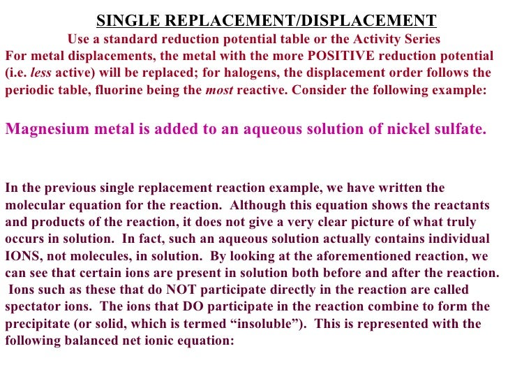 Reactivity series gcse questions house season 7 finale summary metals form a reactivity series which can be used to predict their reactions the most reactive metals such asa gcse science questions clear 1 united urtaz Choice Image