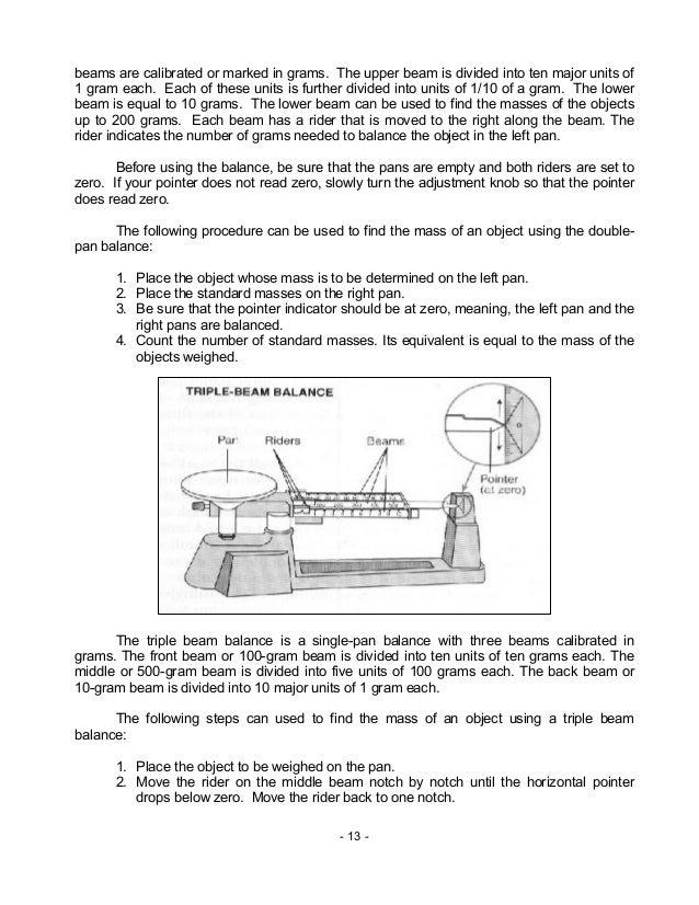 Chem m2 laboratory apparatus safety rules symbols – Reading a Triple Beam Balance Practice Worksheet