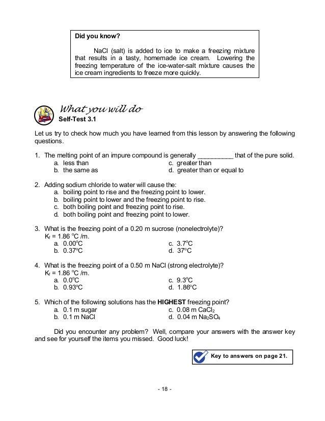 MRHSChemistry - Semester 2 Chemistry