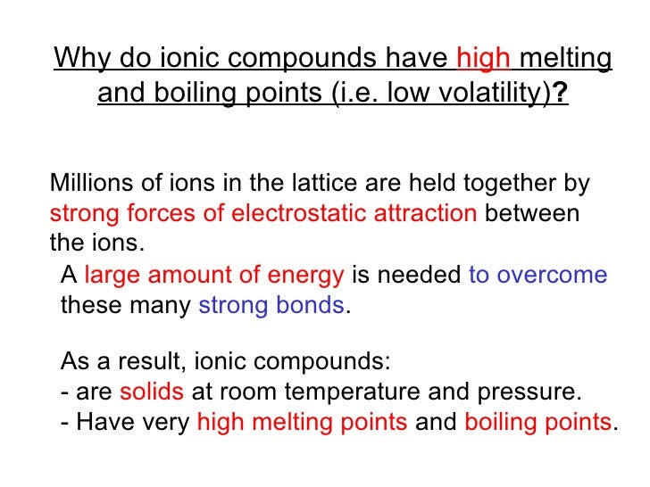 Why Is Sodium Chloride A Solid At Room Temperature