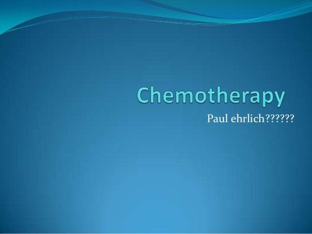 Paul ehrlich??????